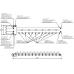 Балансировочный коллектор BM-100-7D (до 100 кВт, подкл. котла G 1¼″, 6+1 контура G 1″, цвет ″серебро на белом″, инверсное подключение)